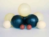 Selection of rubber screen balls